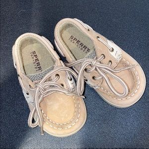 Sperry baby infant boat shoes